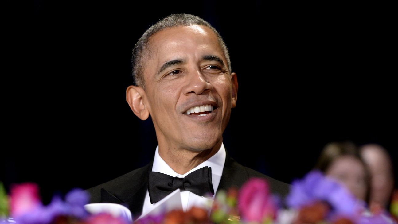 President Barack Obama at White House Dinner - Getty - H 2016