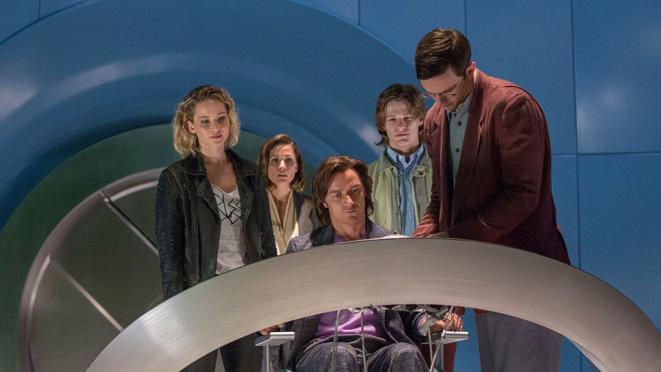 X-MEN APOCALYPSE Still Jennifer Lawrence Rose Byrne James McAvoy Lucas Till Havok Nicholas Hoult Still H-2016