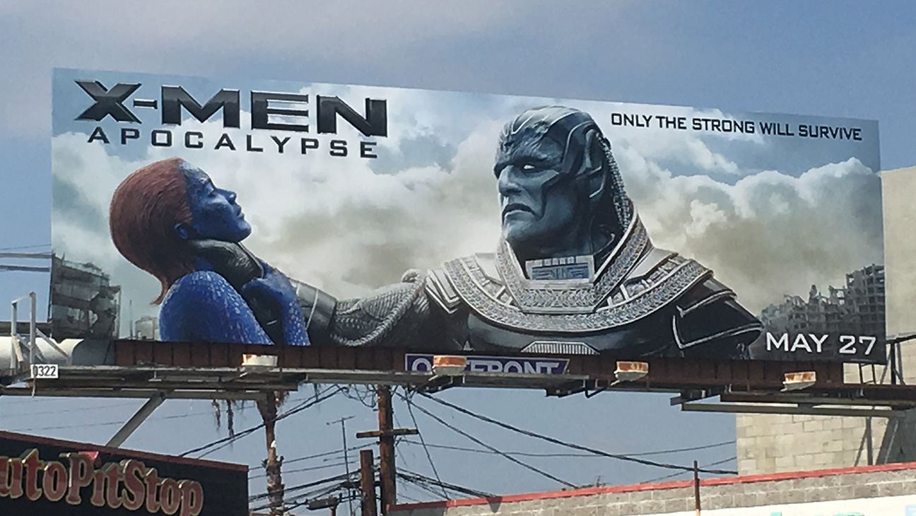 X-Men Billboard - H 2016