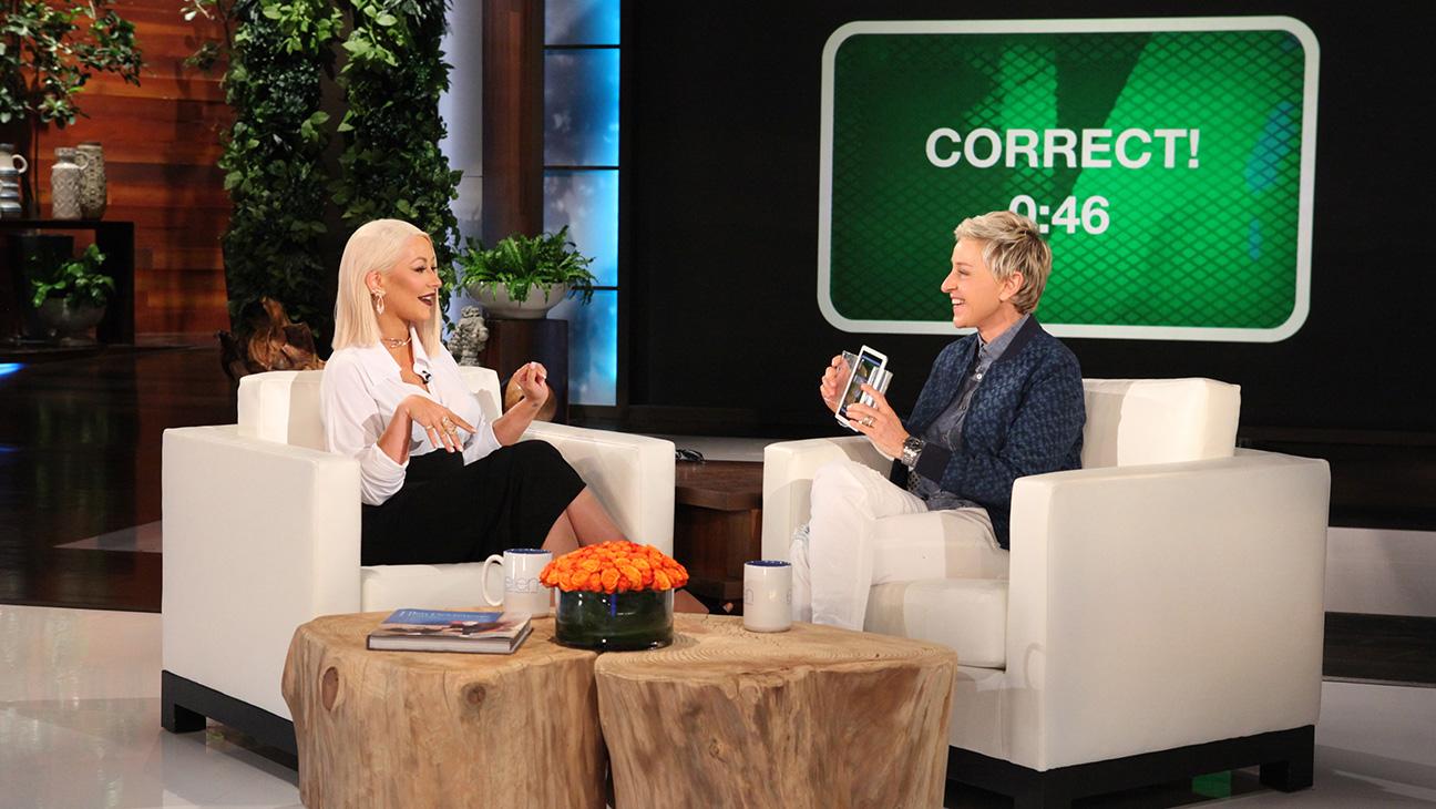Christina Aguilera on Ellen - H Publicity 2016