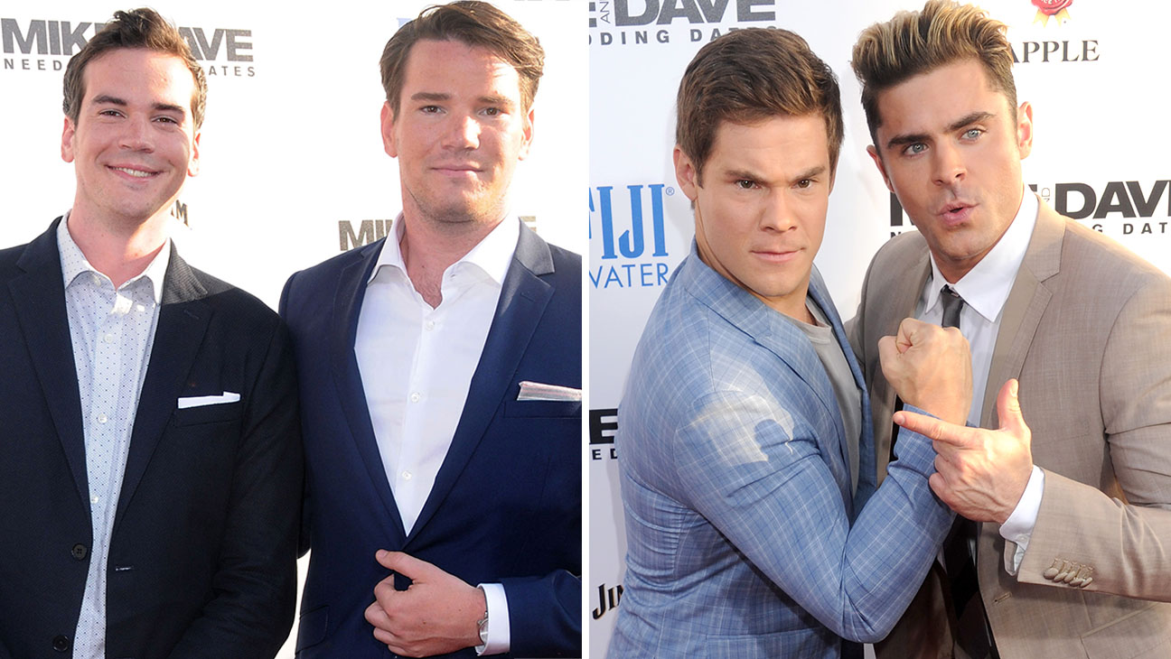 Mike and Dave Stangle and Zac Efron and Adam DeVine-Getty-H 2016