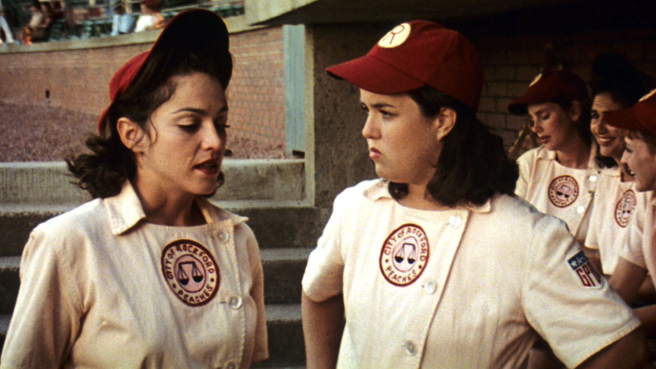 A League Of Their Own Madonna Rosie ODonnell Still H 2016