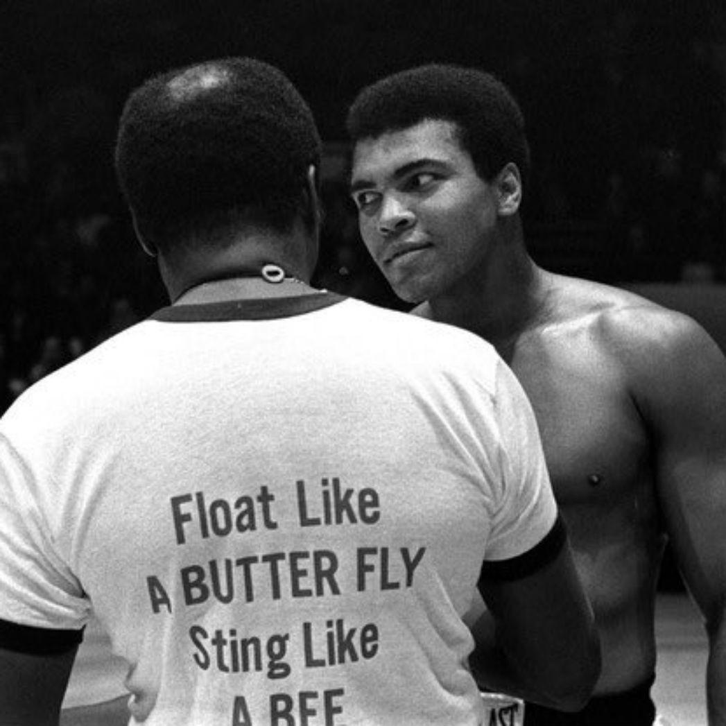 Muhammad Ali Twitter photo - H
