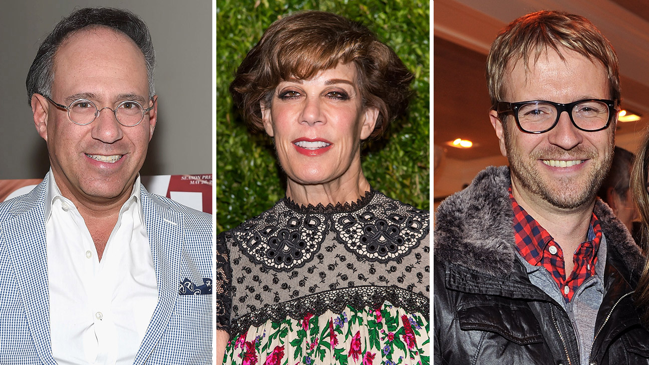 Andrew Saffir, Peggy Siegal and Darrin Pfeiffer_Split  - Getty - H 2016