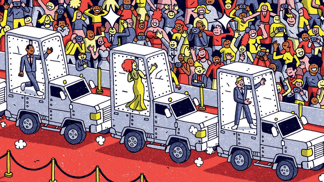 Lockdown- The Future of the red carpet-illo-H 2016