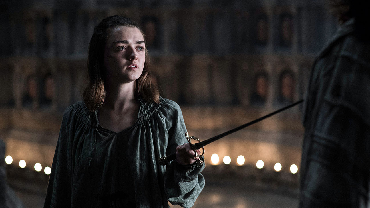 Arya Game of Thrones - H publicity 2016