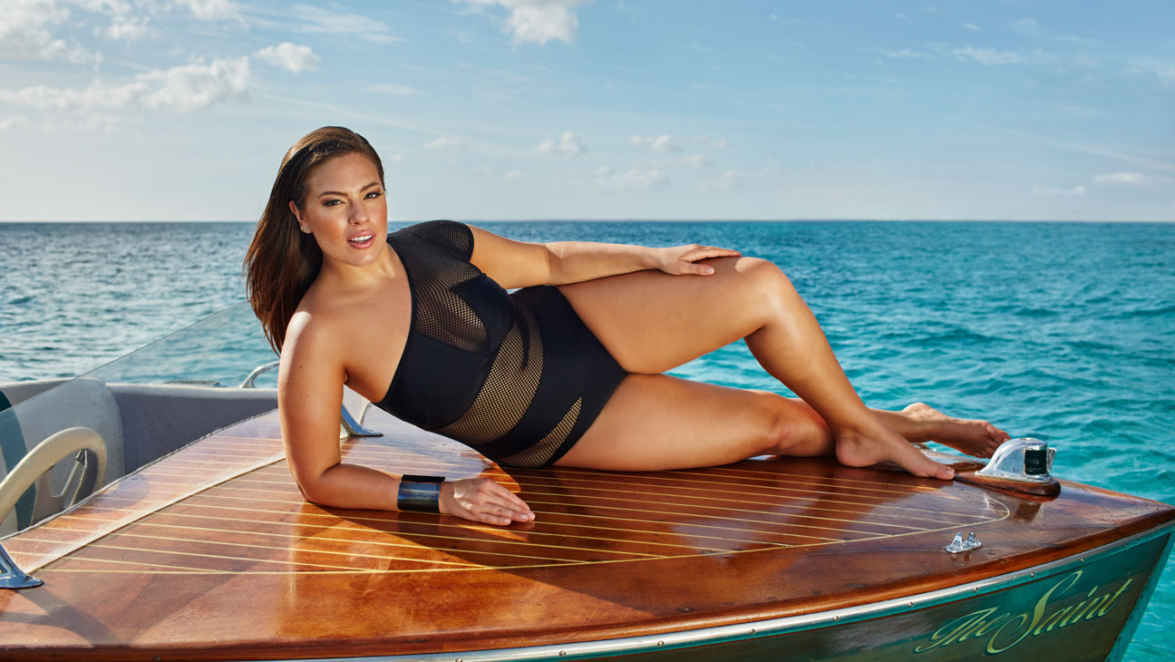 Ashley Graham Swimsuits For All Campaign - H 2016