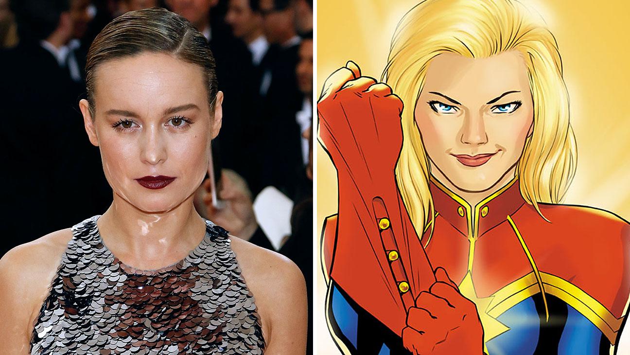 Brie Larson_Captain marvel_Split - H 2016
