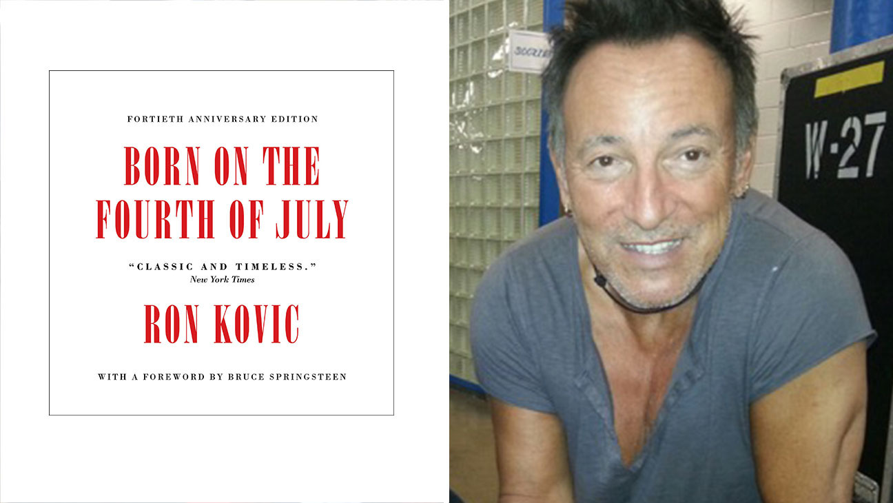 BORN ON THE FOURTH OF JULY and Bruce Springsteen-Split-H 2016