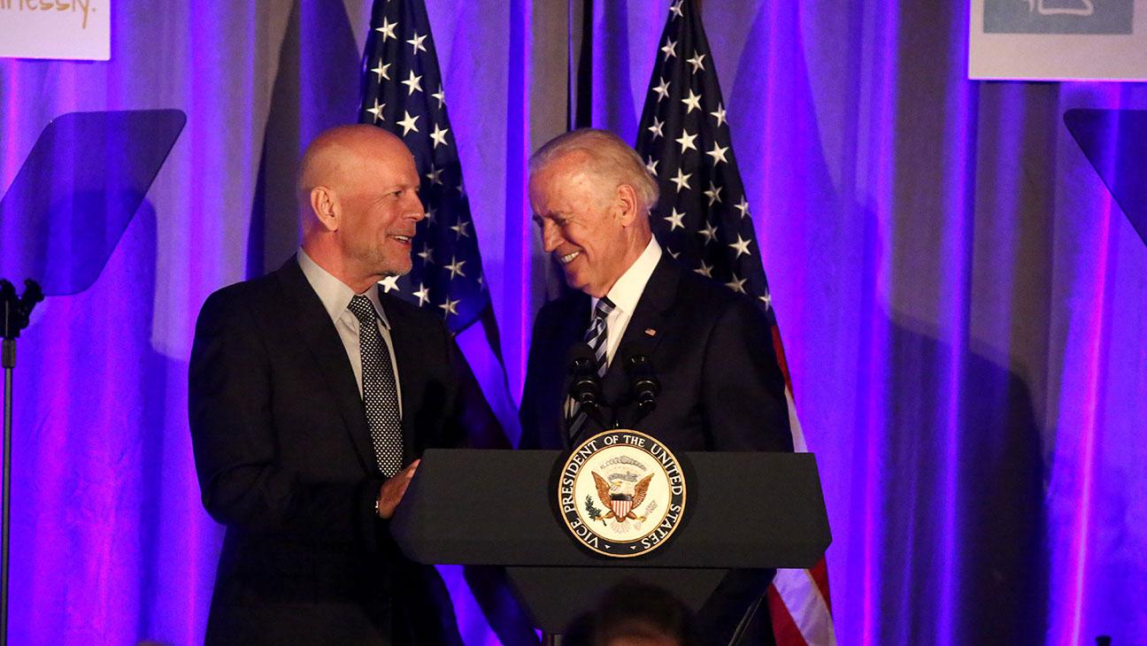 Bruce Willis Joe Biden - Getty - H 2016