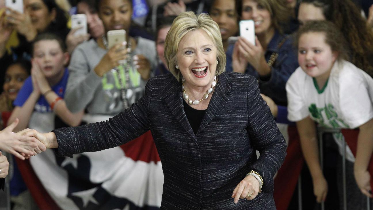 Hillary Clinton 2016 Getty - H