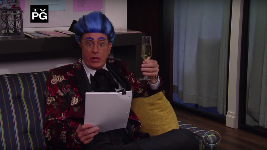 Colbert in Hungry for Power Games — H 2016