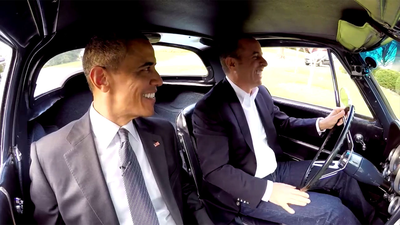 Comedians in Cars Screenshot Obama Jerry Seinfeld H 2016