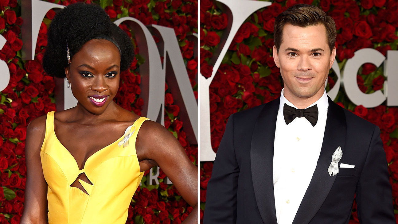 Danai Gurira and Andrew Rannell Split-Getty-H 2016