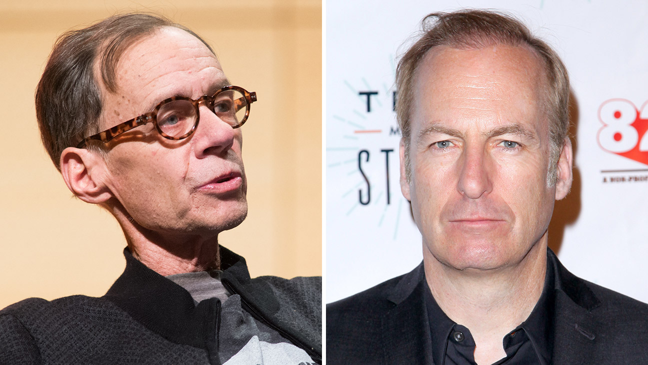 David Carr and Bob Odenkirk_Split - Getty - H 2016