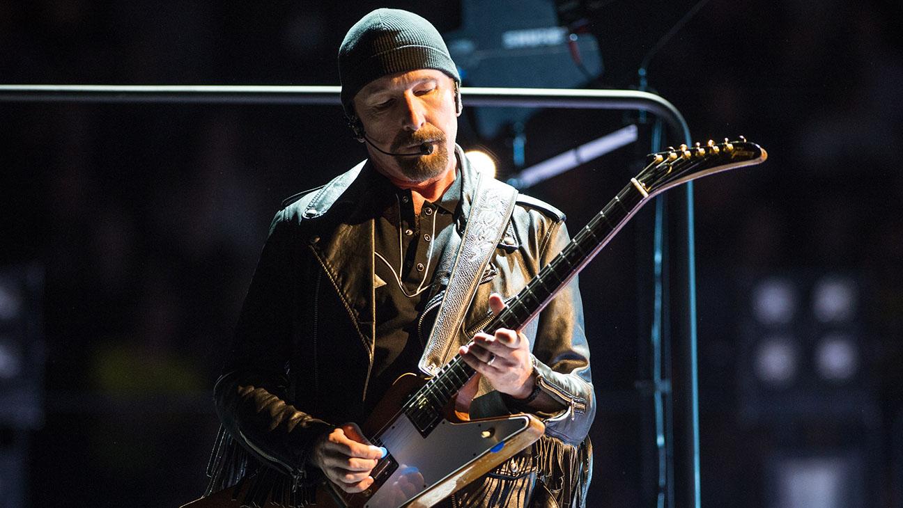 U2's The Edge - H Getty 2016