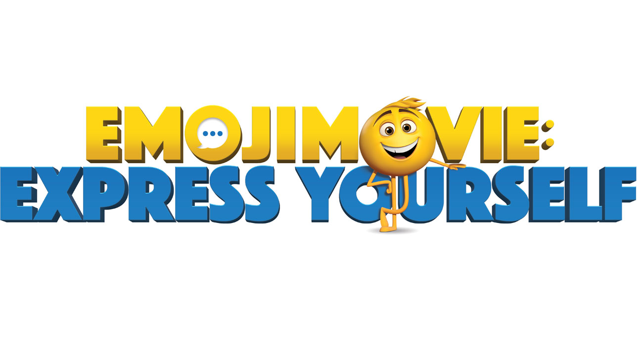 EMOJI MOVIE EXPRESS YOURSELF Logo H 2016