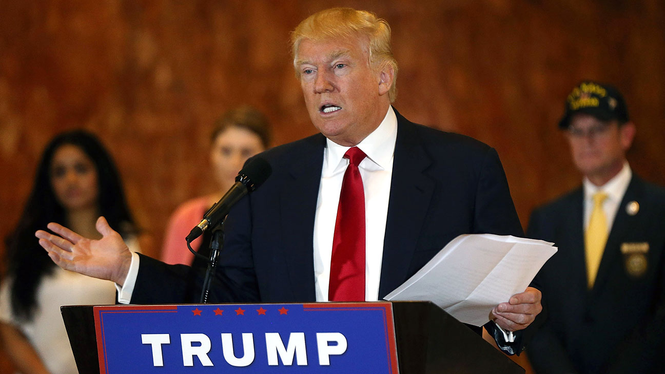 Donald Trump speaks at a news conference at Trump Tower-Getty-H 2016
