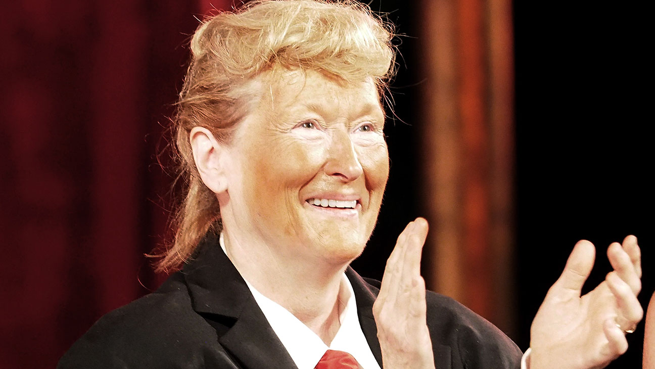 Meryl Streep, as Donald Trump-2016 Public Theater Gala at Delacorte Theater-Getty-H 2016