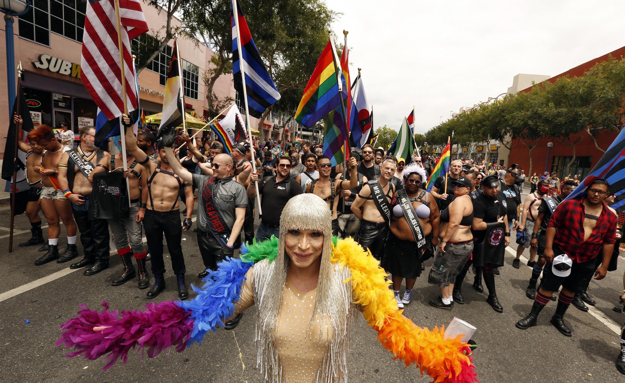 Gay Pride Parade - H Getty 2016