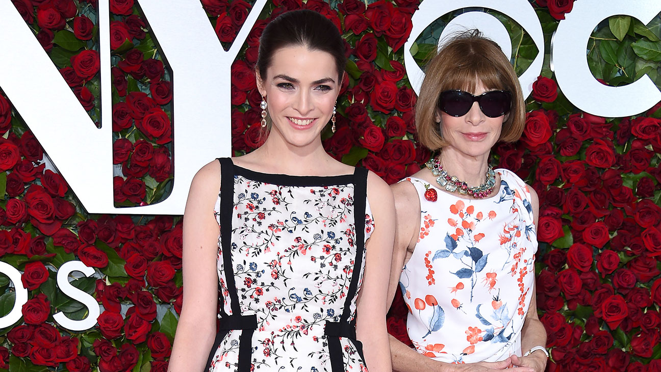 Anna Wintour with Bee Shaffer -70th Annual Tony Awards-Getty-H 2016
