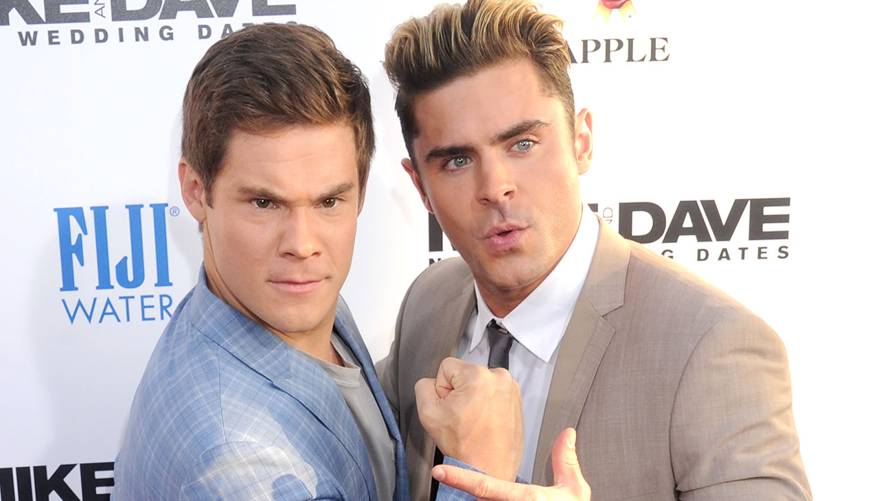 Adam DeVine and Zac Efron - Mike And Dave Need Wedding Dates-Getty-H 2016