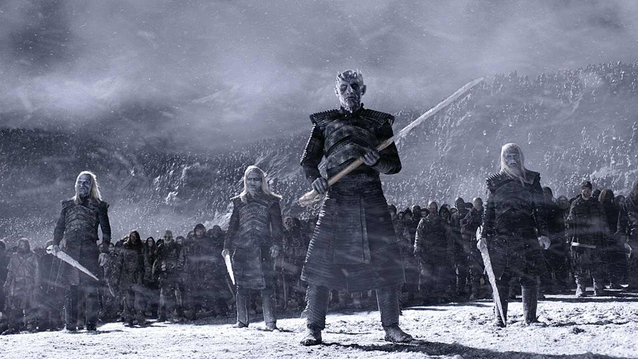 GAME OF THRONES - White Walkers and zombies-Still 1-H 2016