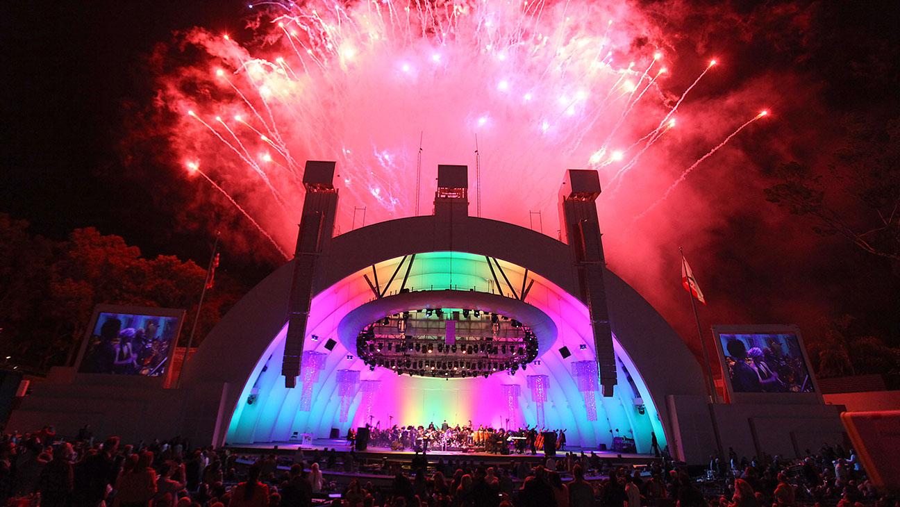Hollywood Bowl Fireworks H 2016