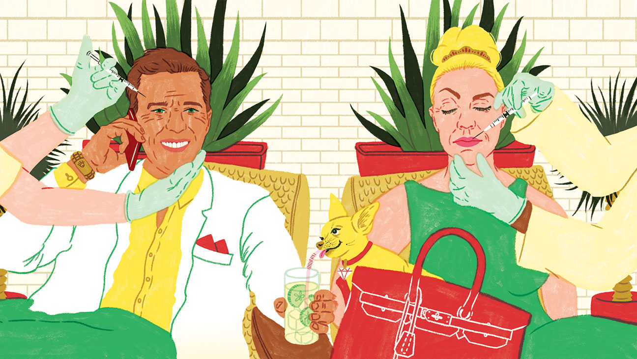 Hollywood's New Thing- Resting Rich Face-illo-H 2016