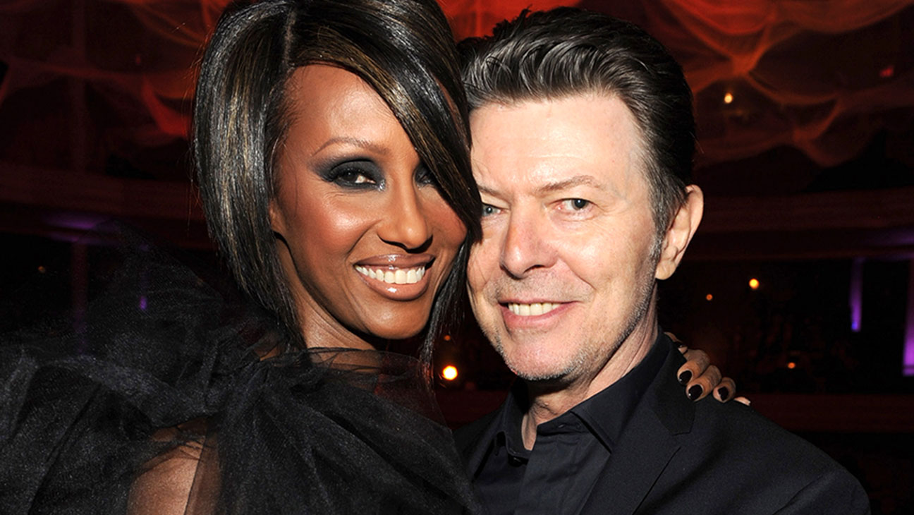 Iman David Bowie Getty H 2016