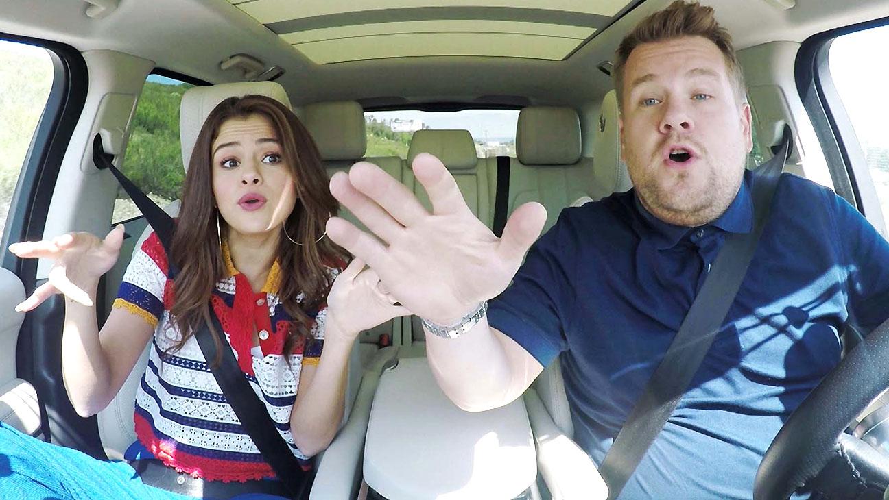Selena Gomez and James Corden carpool karaoke-June 20, 2016 -H 2016