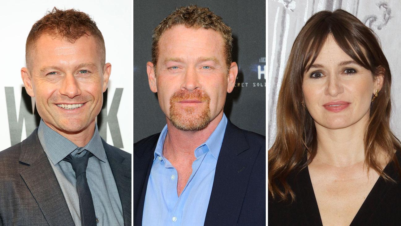 James Badge Dale, Max Martini and Emily Mortimer Split H 2016