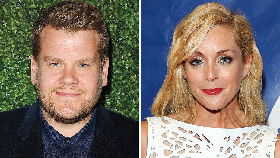 James Corden and Jane Krakowsk Split-H 2016