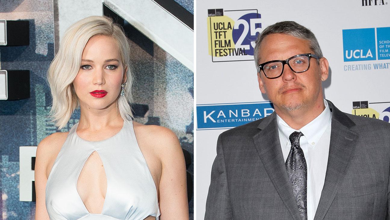 Jennifer Lawrence and Adam McKay_Split - Getty - H 2016