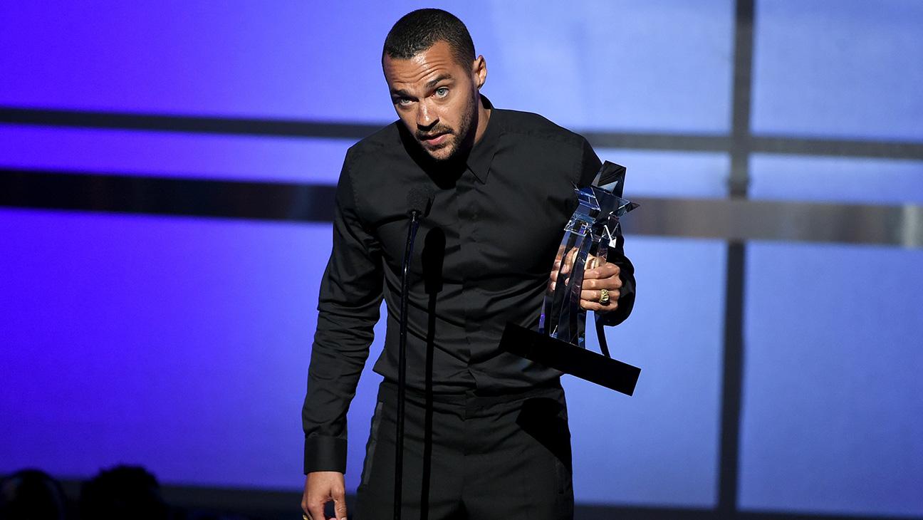 Jesse Williams BET Awards - H Getty  2016