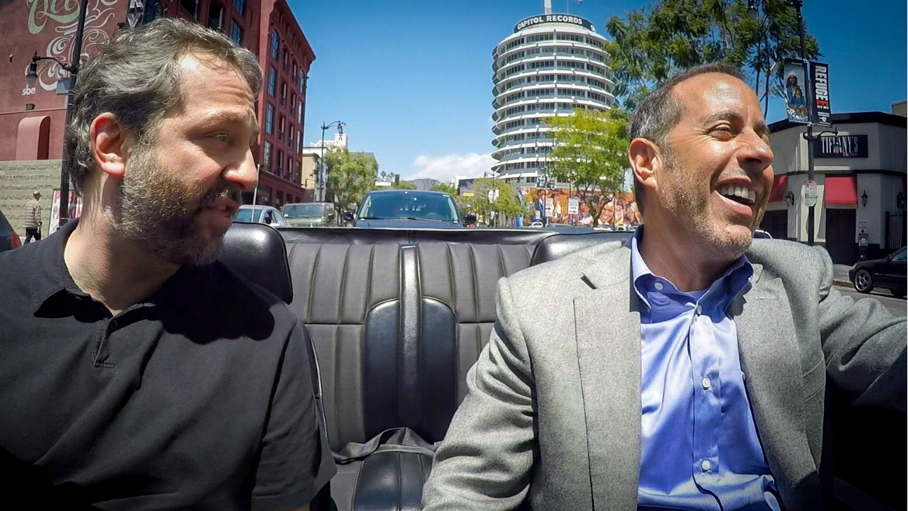 Comedians in Cars Getting Coffee Seinfeld Apatow - H
