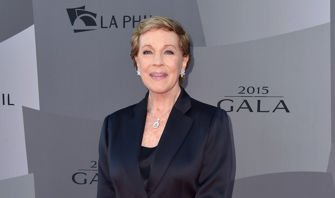 Julie Andrews Getty H 2016