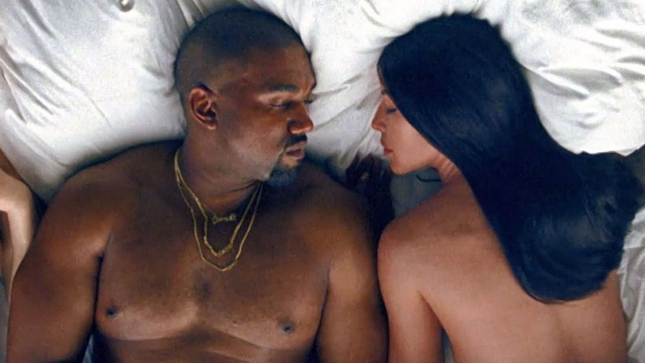 Kanye West's Famous video -Screen Shot-H 2016