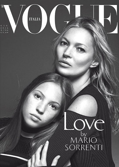 Kate Moss Italia Vogue P 2016