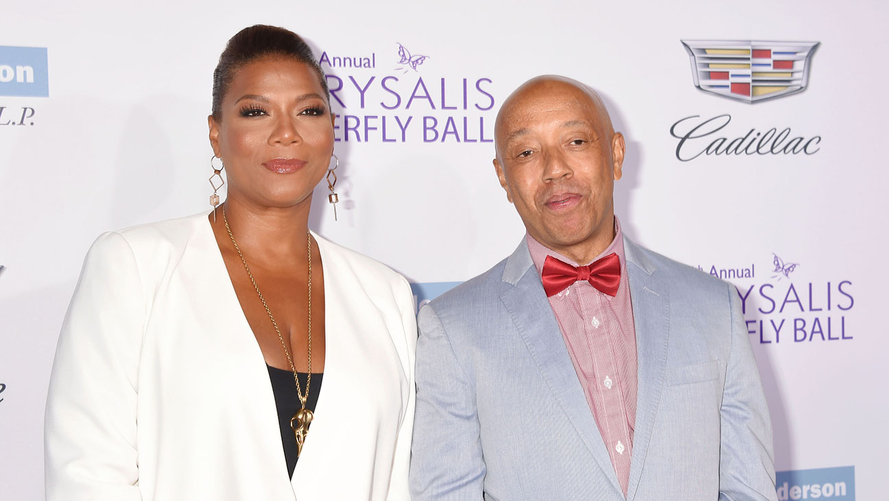 Queen Latifah Russell SImmons - H Getty 2016