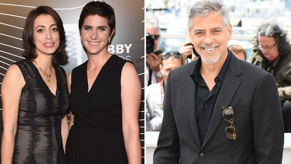 Laura Ricciardi Moira Demos George Clooney Split H 2016
