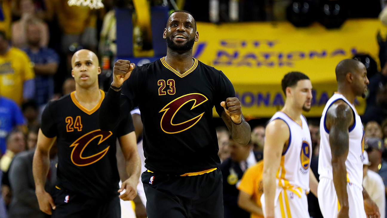NBA FInals - LeBron James - H GEtty 2016