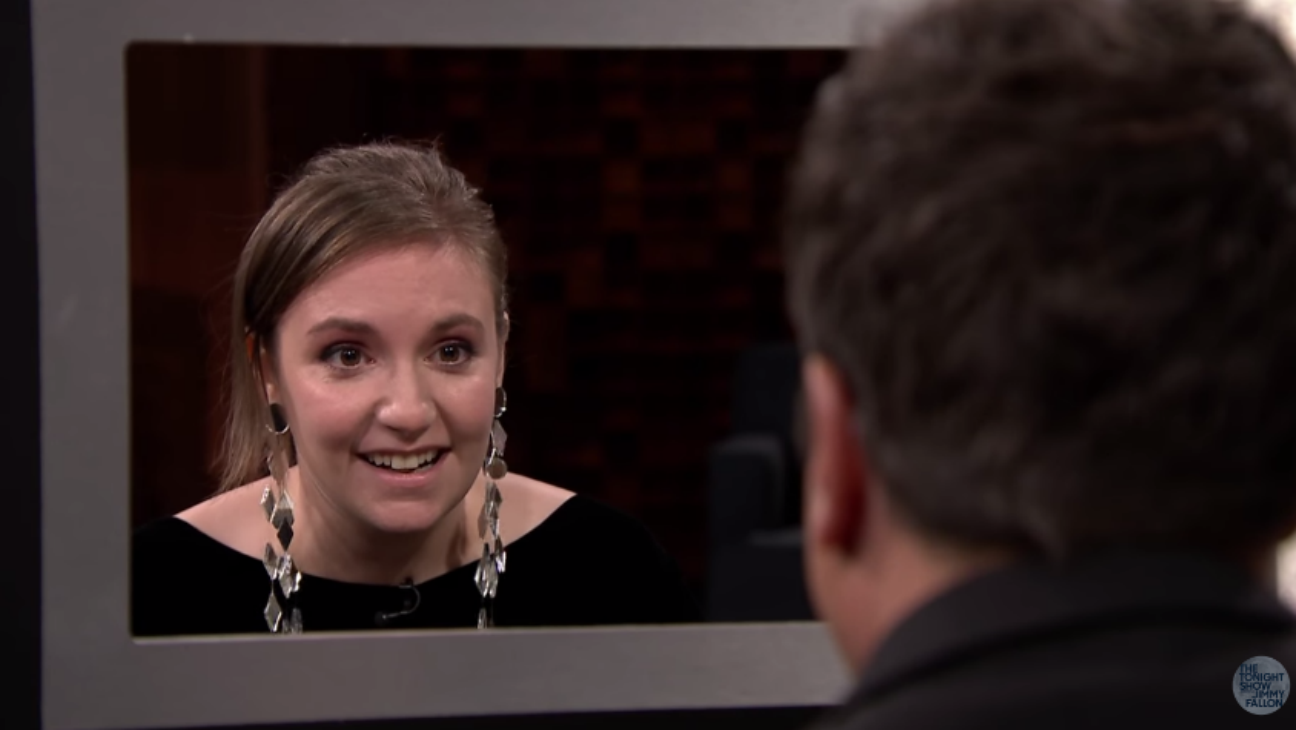 Lena Dunham on Tonight Show - H 2016