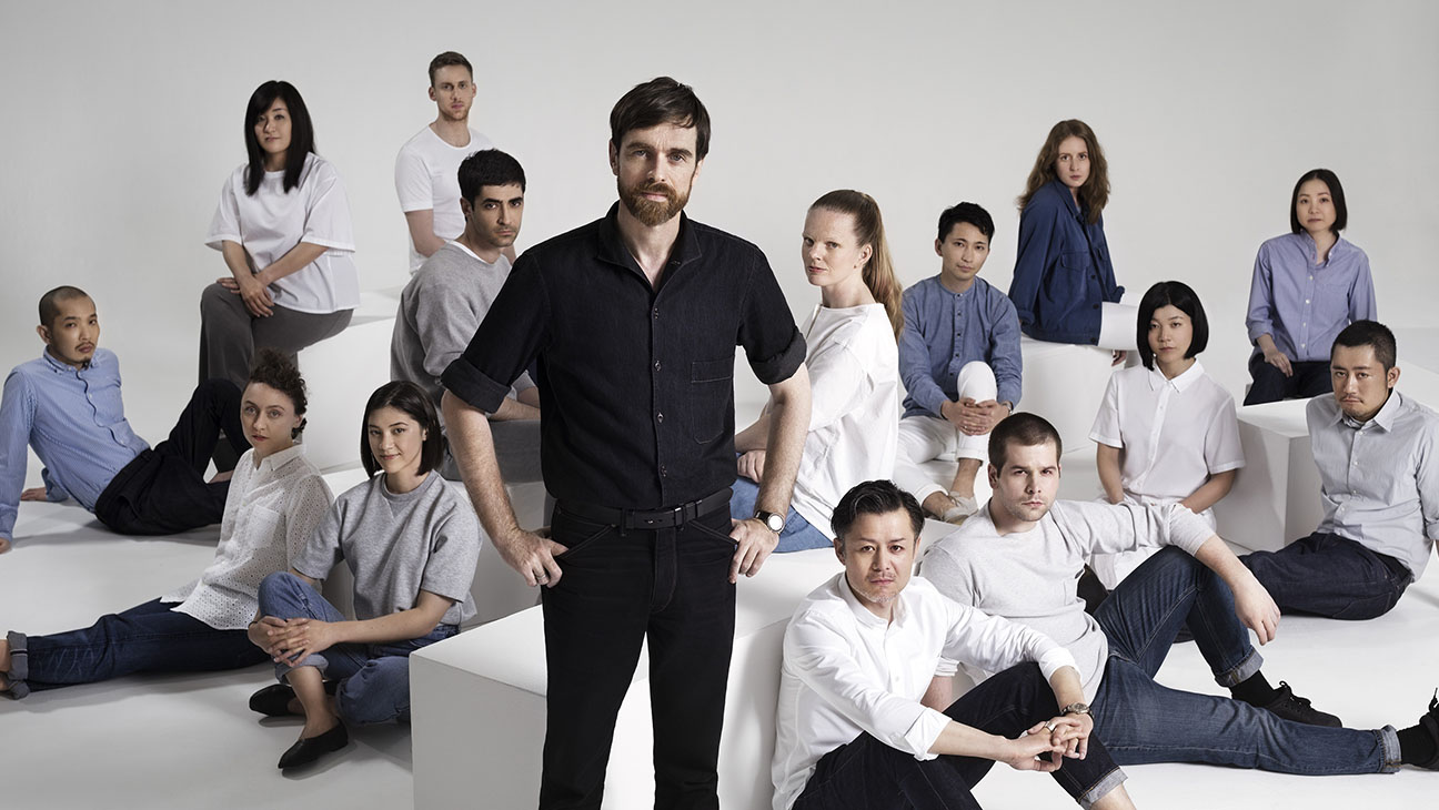 Christophe Lemaire and M Team-Uniqlo-Publicity-H 2016