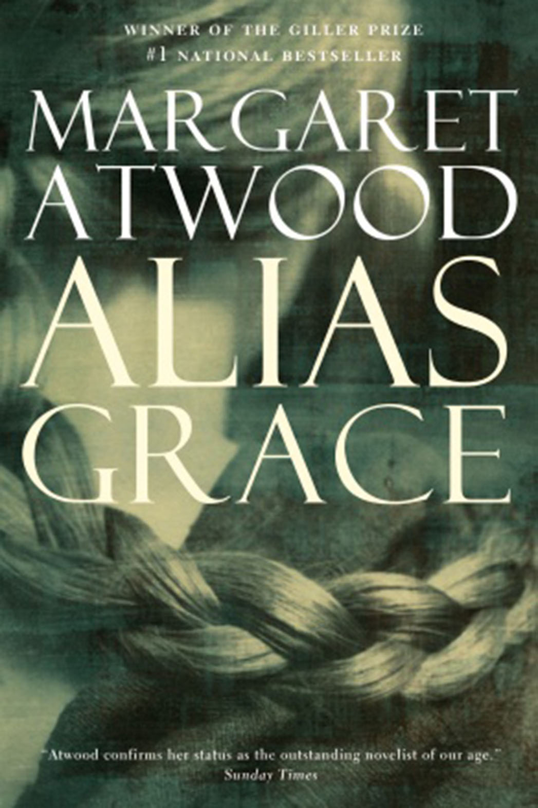 Margaret Atwood's Alias Grace Book Cover P 2016