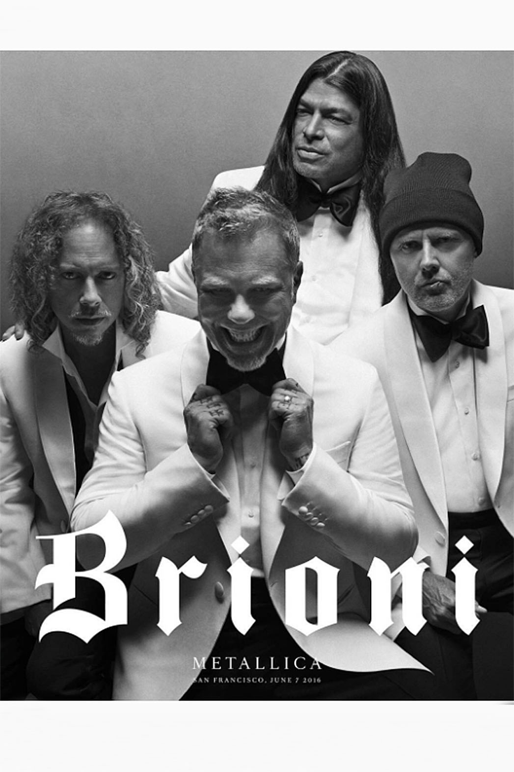 Metallica - Brioni - first creative campaign Screen Shot-P 2016