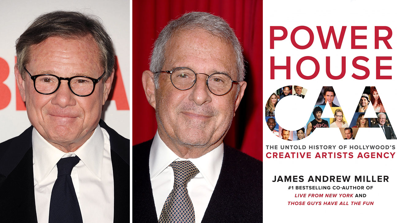 mike ovitz_ron meyer_James Andrew Miller_Split - Getty - H 2016