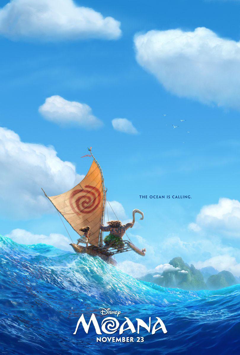 Moana Movie Poster P 2016