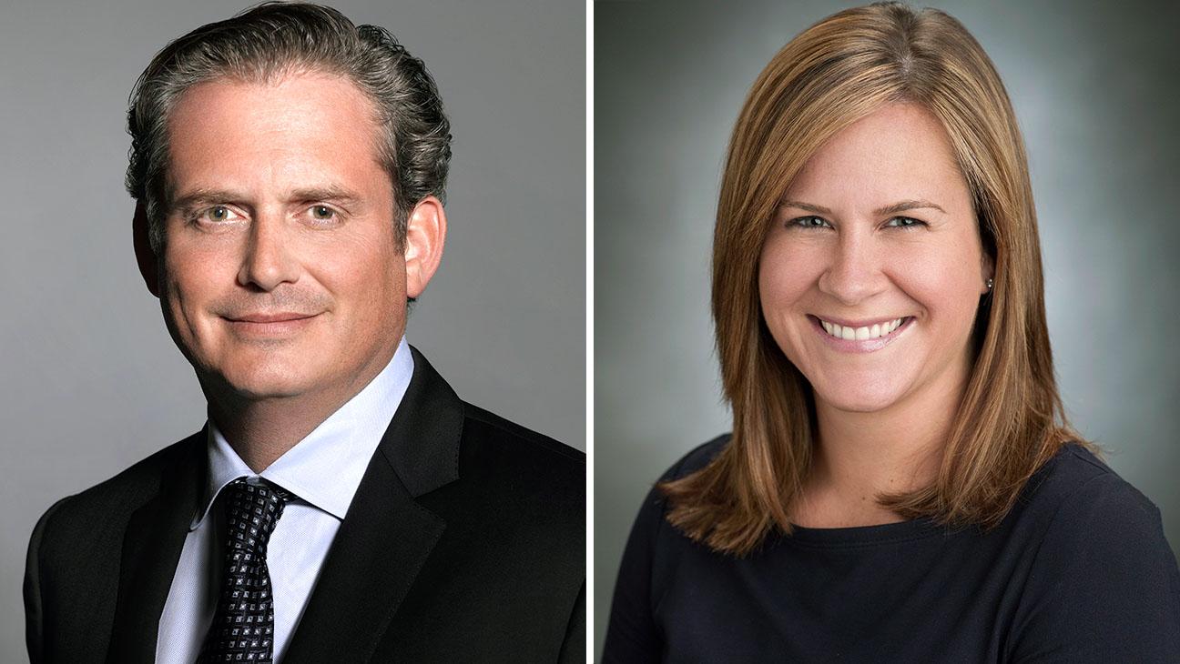 NBC execs Paul Telegdy and Meredith Ahr Split-H 2016
