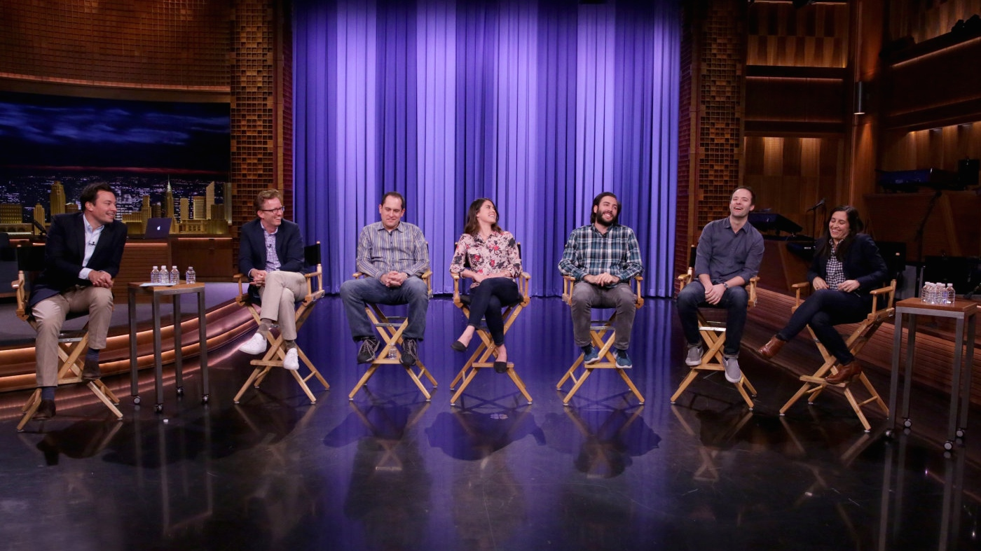 Jimmy Fallon and 'Tonight Show' Writers at WGAE Panel - H 2016